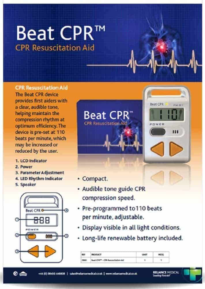 CPR Resuscitation Aid - Beat CPR with Wessex Medical