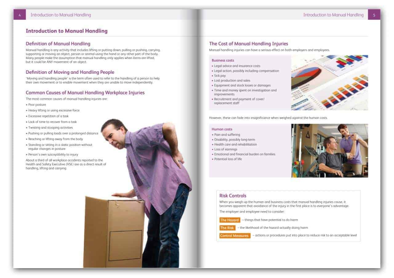 a list of the principles to be followed for safe moving and handling O ensure procedures are followed including proper disposal  health and safety fact sheet - safe handling and disposal of needles and syringes author.