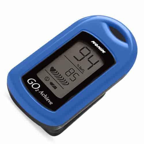 Nonin GO2 Finger Pulse Oximeter, Blue (no Case)