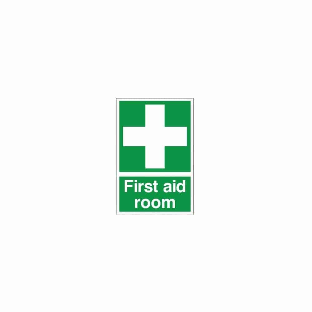 First Aid Room Sign With Symbol 200mm X 300mm