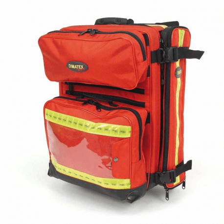 Dimatex patrol 2 red paramedic case available from wessex for Case interne